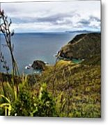 Cape Reinga North Island New Zealand Metal Print