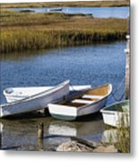 Cape Rowboats Metal Print