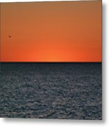 Cape San Blas Sunset Metal Print