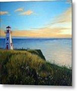 Cape Tryon Lighthouse Metal Print
