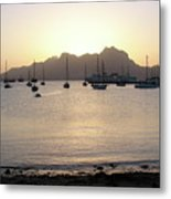 Cape Verde Sunset Metal Print