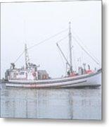 Capelco Passing Thru Foggy Johnson Bay Metal Print