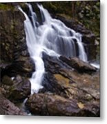 Capilano Waterfall Metal Print