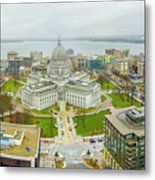 Capital Panoramic Metal Print