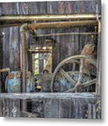 Capital Quarry Cutting Shed Metal Print
