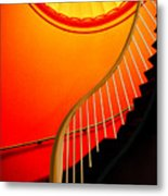 Capital Stairs Metal Print