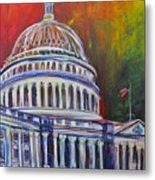 Capitol Closing Metal Print