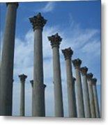 Capitol Columns Metal Print