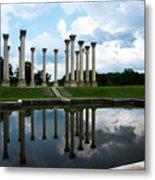 Capitol Columns, National Arboretum Metal Print