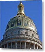 Capitol Dome Charleston Wv Metal Print