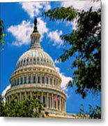 Capitol Of The United States Metal Print