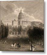 Capitol Of The Unites States, Washington D C Metal Print