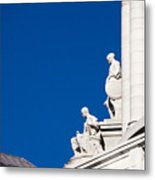 Capitol Statues - Madison Wisconsin-1 Metal Print