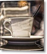 Cappuccino In Milan Metal Print
