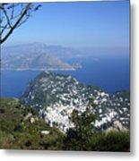 Capri At The Top Metal Print