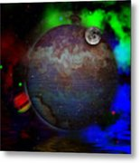 Caprica Over The Waters Metal Print