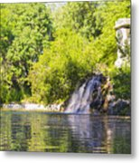 Capricho Waterfall Metal Print