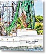 Capt. Redd Metal Print