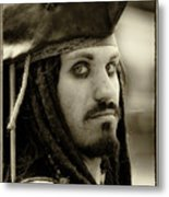 Captain Jack Sparrow Metal Print by David Patterson