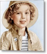 Captain January, Shirley Temple, 1936 Metal Print