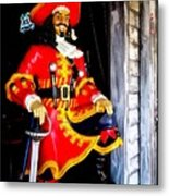 Captain Morgan Metal Print by Bruce Kessler