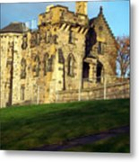 Caption Hill Building Metal Print