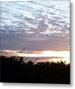 Captivating Suset Metal Print