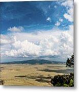 Capulin Volcano View New Mexico Metal Print
