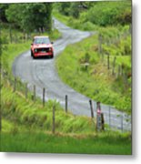 Car 88 Donegal International Rally Metal Print