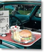 Car Hop Blues Metal Print
