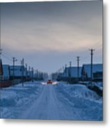 The Road Away From Here Metal Print