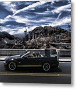 Car Metal Print by Marco Moscadelli