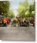 Car - Race - Hold On To Your Hats 1915 Metal Print