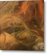 Caramel Cream  Metal Print