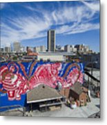 Caratoes Richmond Mural Project Metal Print