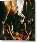 Caravaggio: St. Paul Metal Print by Granger