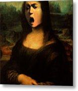 Caravaggio's Mona Metal Print