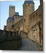 Carcassonne Castle Metal Print