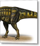 Carcharodontosaurus Iguidensis Metal Print