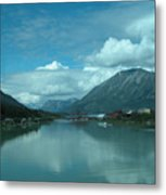 Carcross - So Much Blue Metal Print