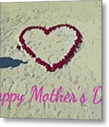 Card For Mothers Day Metal Print