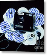 Cardiac Event Recorder Metal Print