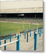 Cardiff - Ninian Park - East Stand Railway Side 3 - August 1991 Metal Print