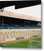 Cardiff - Ninian Park - East Stand Railway Side 5 - March 2004 Metal Print
