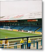 Cardiff - Ninian Park - North Stand 3 - October 2004 Metal Print