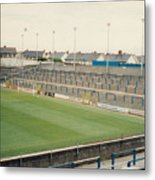 Cardiff - Ninian Park - South Stand Grange End 1 - August 1991 Metal Print
