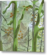 Cardwell Hill Forest Metal Print