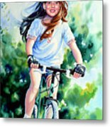 Carefree Summer Day Metal Print