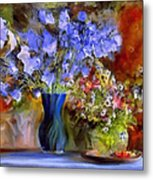 Caress Of Spring - Impressionism Metal Print