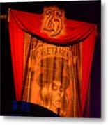Caretaker Banner Metal Print